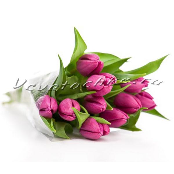 Букет из семи тюльпанов, сколько стоит букет маленьких тюльпанов на 8 марта