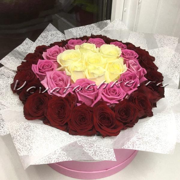 Доставка цветов в Тольятти | цветы Тольятти | Тольятти розы | ВцвеТочке | vcvetochke | купить цветы в Тольятти | букет Тольятти | цветы в тольятти дешево | купить цветы с доставкой в тольятти | 8 марта | шляпная коробка